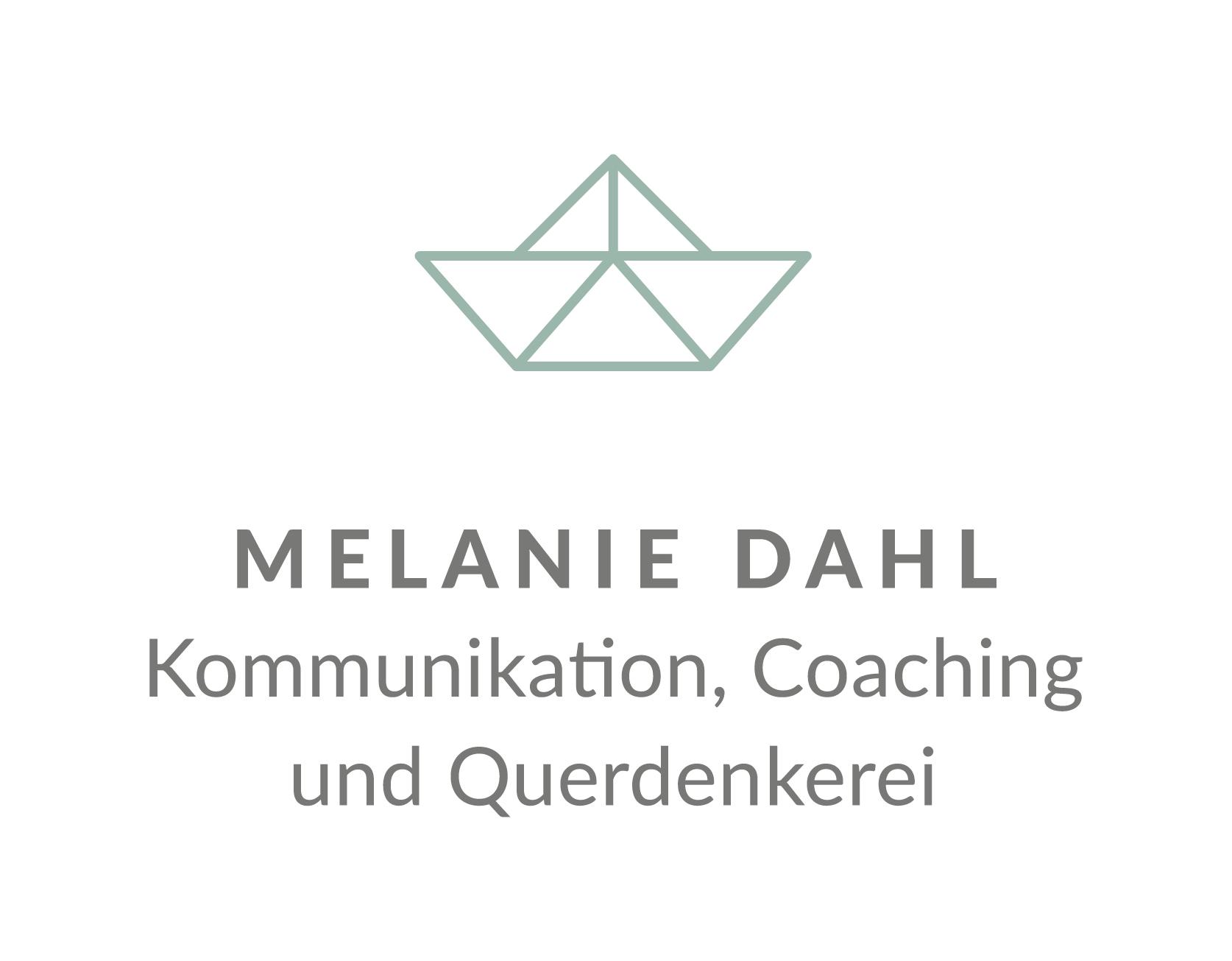 Logo Melanie Dahl – Kommunikation, Coaching und Querdenkerei